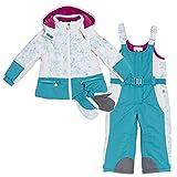 Chicco Flurry by Kinder Schneeanzug 18 Monate Gr.86 mit Thermore®-Funktionswattierung Azzurro Stampato inkl. Handschuhe Snowboard/Skianzug