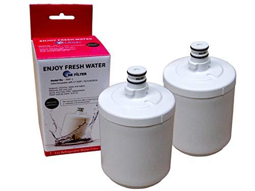 LG -2er Pack Wasserfilter für LG Kühlschrank Side-by-Side LT500P / 5231JA2002A Innenfilter interner Kühlschrankfilter