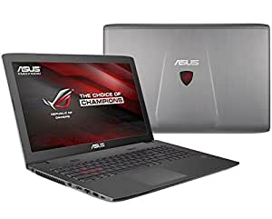 "Asus ROG GL752VW-DH71-HID11 Metal Grey 17.3"" i7-6700HQ 2.6-3.5GHz 2GB GTX 960M Windows 10 (128GB SSD + 1TB HDD / 16GB RAM / BLURAY)"