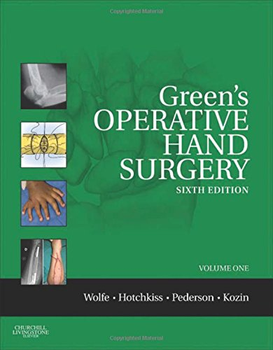 Green's Operative Hand Surgery,: Expert Consult: Online and Print (Operative Hand Surgery (Green's)2 vol. set