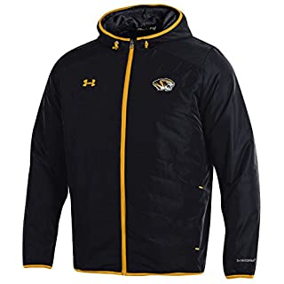 Under Armour Unisex Storm1 NCAA Men's Storm-1 Hybrid Jacket, Black, XXL