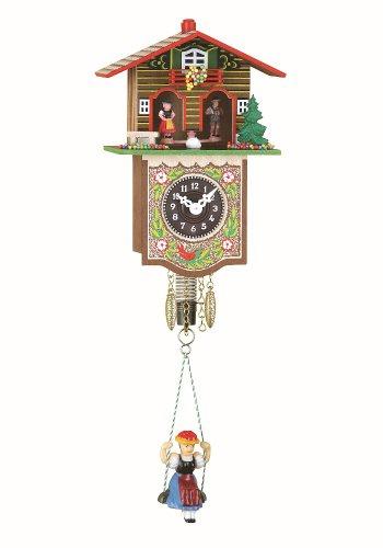 Trenkle Orologio dalla Foresta Nera in Miniatura casa Tipo Foresta Nera casetta Stazione Meteo TU 809 S