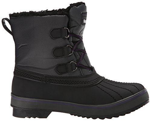 Skechers Highlanders polaire Ours Boot neige Black/Charcoal