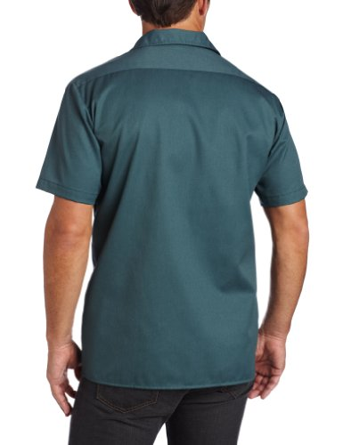 Dickies - Hemd Shortsleeved Work Shirt, Short sleeve da donna verde (Lincoln Green)