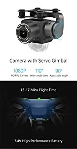 YAMEIJIA GW83 new aircraft GPS drone aerial photography professional remote control aircraft