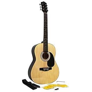 Martin Smith W-100 Akustikgitarre Set natur