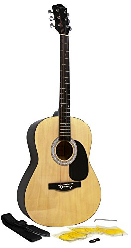martin-smith-w-100-acoustic-guitar-package-with-strings-plecs-strap-natural