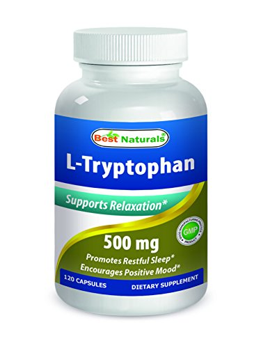 Best Naturals L-Tryptophan 500 mg Capsule, 120