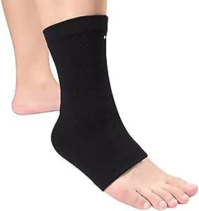 zjchao Knöchelbandage Kompression Fußbandage Knöchelstütze