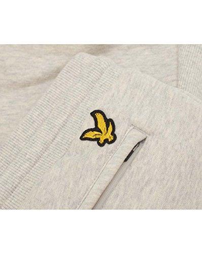 Lyle & Scott Uomo Joggers sudore Slim Logo, Grigio Grigio