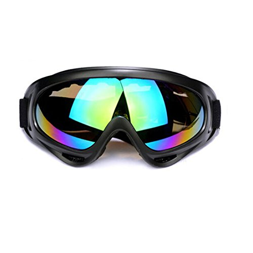 Andux Zone Protezione UV400 CinqueTactical Goggles/Moto Occhiali anti-vento, anti-Luce solare, Anti-Sand GL-04