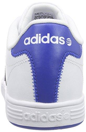 adidas NEO Herren Vlcourt Low-Top Weiß (Ftwwht/Conavy/Blue)