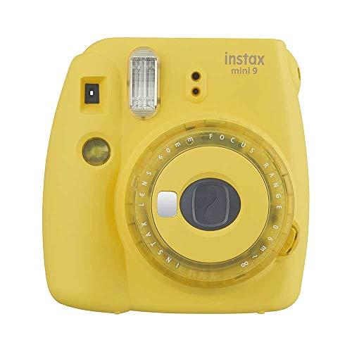 Instax Mini 9 Clear - Color Amarillo