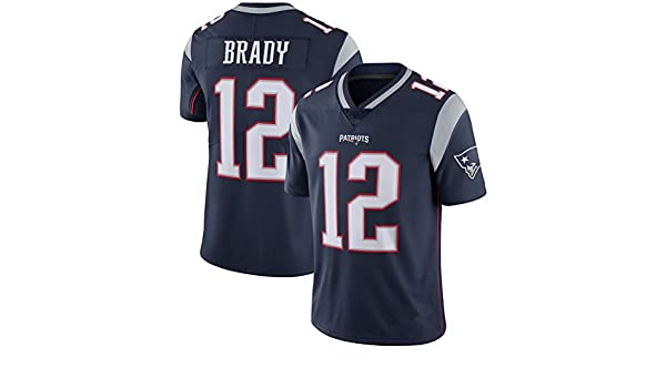 Hhwei Jersey Basketball Uniform Trikot Atmungsaktiv Basketball Weste Komfortable Schnelltrocknend F/üR Basketball Fans Tom Brady New England Patriots #12,S