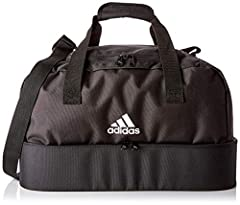 Idea Regalo - adidas Tiro Borsone, Unisex - Adulto, Black/White, Tagia Unica