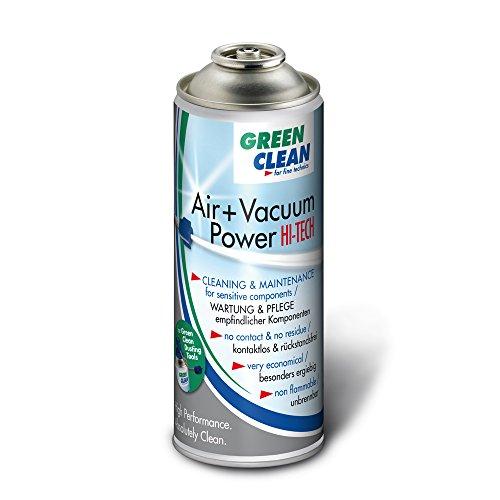 Preisvergleich Produktbild GREEN CLEAN G-2051 Air und Vacuum Power Hi Tech 400ml Airduster für Dusting Tools weiß