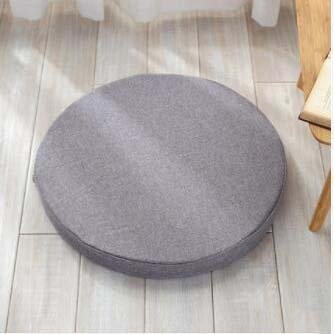 CCYYJJ High Density Sponge Pad, Runde Kissen Sitzkissen Sitzdämpfung Korbstuhl Kissen Yogamatte Stoff Verdickung Dämpfung-D mit Einem Durchmesser von 50 cm (20 Zoll) (Korbstuhl Kissen)