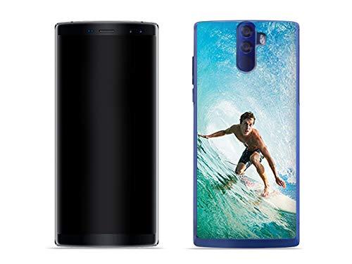 etuo Doogee BL12000 - Hülle Foto Case - Surfer - Handyhülle Schutzhülle Etui Case Cover Tasche für Handy