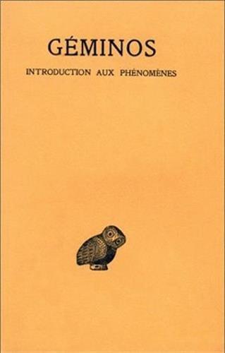 Introduction aux phénomènes par Géminos, G. Aujac
