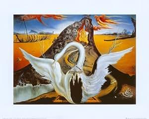 Reproduction d'art 'Bacchanale', de Salvador Dalí, Taille: 50 x 40 cm