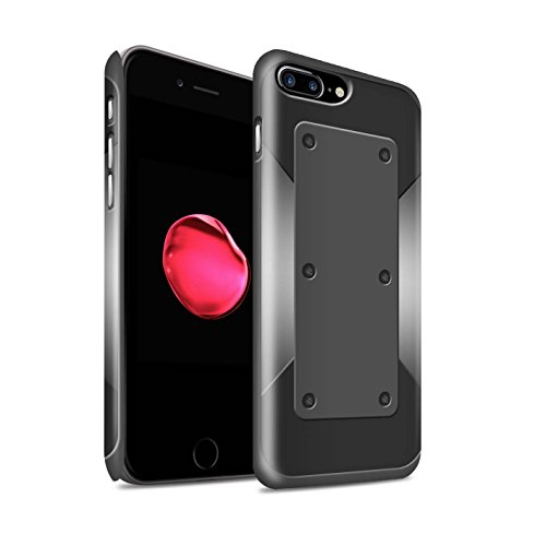 STUFF4 Matte Snap-On Hülle / Case für Apple iPhone 7 Plus / Klammer Muster / Rüstung Kollektion Sperren/Bolzen