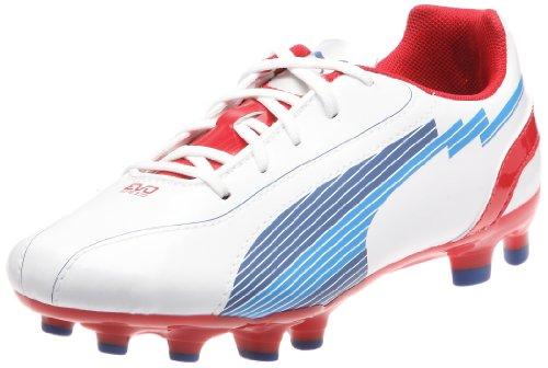 voSPEED 5 FG Jr Sportschuhe-Fußball, Weiss (white-limoges-ribbon red 01) 37 EU ()