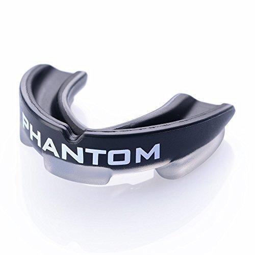 """Phantom Athletics Zahnschutz """"Impact"""" - Black mit Box - Mund und Zahnschutz - Mouthguard,Zahnschützer"""