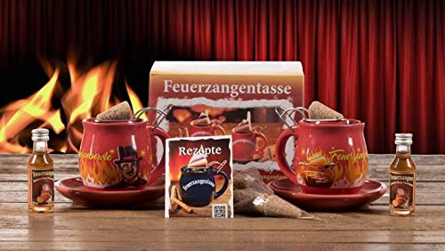 """Feuerzangentasse 2er-Set Rühmann""""Bowle-weihnachtsrot"""" - premium"""