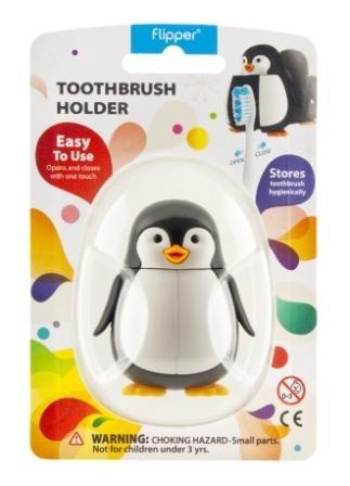 Flipper Toothbrush Holder Splash Penguin