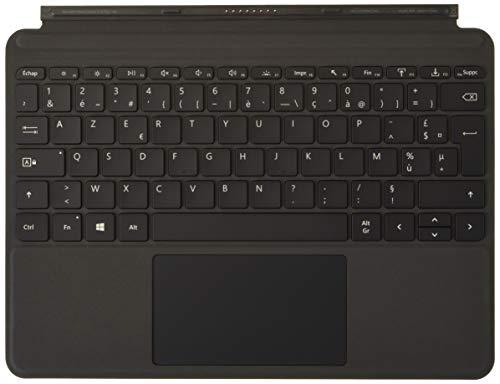 Microsoft KCM-00004 clavier Signature Type Cover pour Surface Go - Clavier amovible AZERTY (Alcantra, interface magnétique, rétroéclairage LED, pavé tactile en verre) - Noir