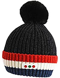 f5823244133a conqueror Bonnet Poilu bébé Fille garçon Garder au Chaud Chapeau d hiver  Chapeau de Laine