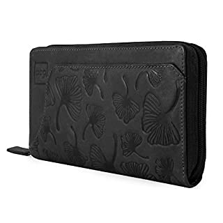 Aca Piel Women's Wallet Black Black