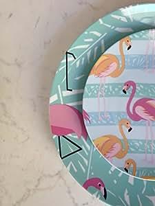 Villa d'Este Home Tivoli Flamingo servizio 18 pezzi Fenicotteri mix color