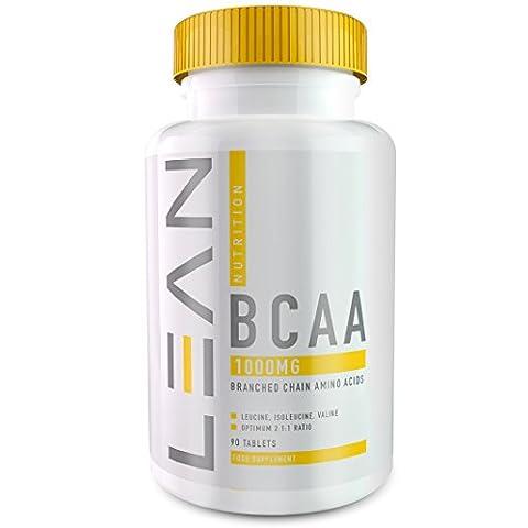LEAN Nutrition BCAA Tablets 1000mg - Aminoacides à chaîne ramifiée