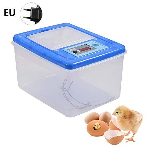 Ritapreaty Incubatrice, 14-68 Uova Controllo Automatico della Temperatura Dispositivo di Allevamento delle Uova Altamente Trasparente per Uova di Anatra, Uova di oche, Uova di Uccelli