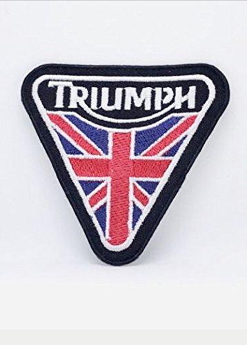 Patch Triumph Moto Parche Bordado Termoadhesivo cm 7,5x 7,5