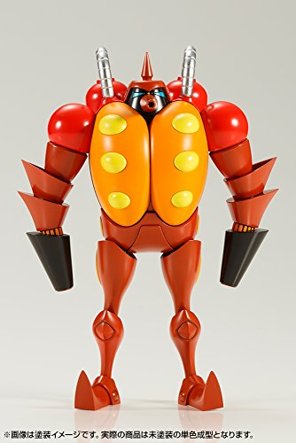 Casshern  Showa model boy club  flame radiation robot Furenda with a mini figure About 12 cm Non Scale Plastic ModelKOTOBUKIYA
