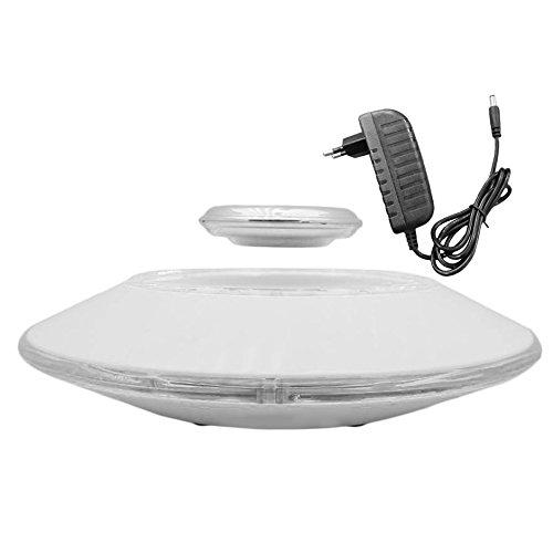 Jasnyfall Piattaforme levitazione magnetica, sospensione magnetica anti-gravità galleggiante basamento del supporto Base d'illuminazione a LED da trasporto Peso 800g per la formazione dei bambini e ideale del regalo per i bambini e Business