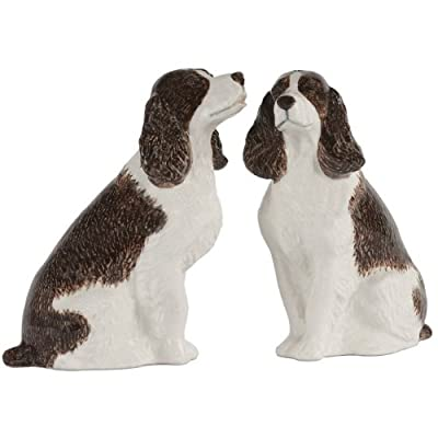 Quail Ceramics Springer Spaniel Salt & Pepper Pots from Quail Ceramics