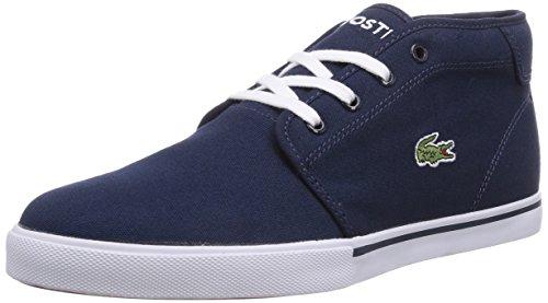 Lacoste Hohe Große (Lacoste Herren Hohe Sneakers Hohe Sneakers AMPTHILL LCR2, Blau (DK BLU/DK BLU DB4), Gr. 45 (Herstellergröße: 10.5))