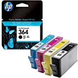 4 HP Photosmart Wireless B109n Original Printer Ink Cartridges - Cyan / Magenta / Yellow / Black