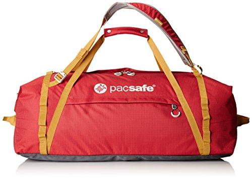 Pacsafe DuffelSafe AT100Diebstahlschutz Duffel Bag, Chili/Khaki (rot) - 22115