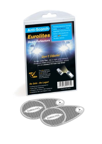 Unbekannt Eurolites N92160 Headlamp Adaptors for Driving in Europe