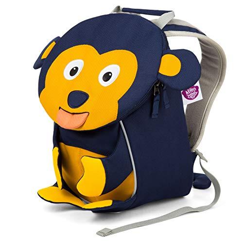 Affenzahn Kinderrucksack Albert AFFE für 1-3 Jährige im Kindergarten - Blau (Jahr Affe Des)