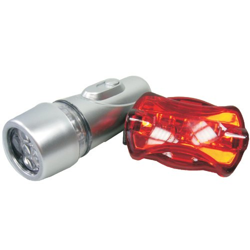 Technoline T9030 Mobiles Licht Fahrradleuchte silber -