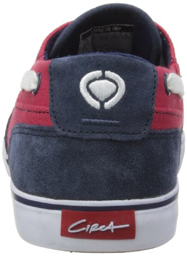 C1RCA  VALEO, Baskets mode mixte adulte Rouge - Blue/Red Twill