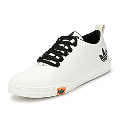 Marpens Mens Synthetic White Shoes 6 Buy Online At Low Prices In