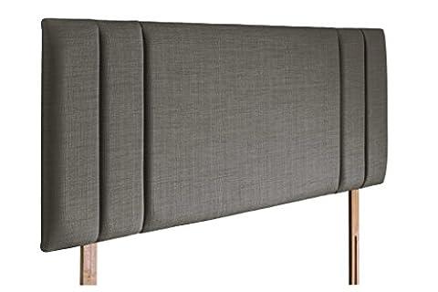 Sphinx Padded Upholstered Headboard (3FT Single, Gem Slate)