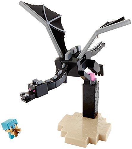 Preisvergleich Produktbild Mattel DJY38 - Fantasy, Minecraft Das Ende, Enderdrache vs Steve