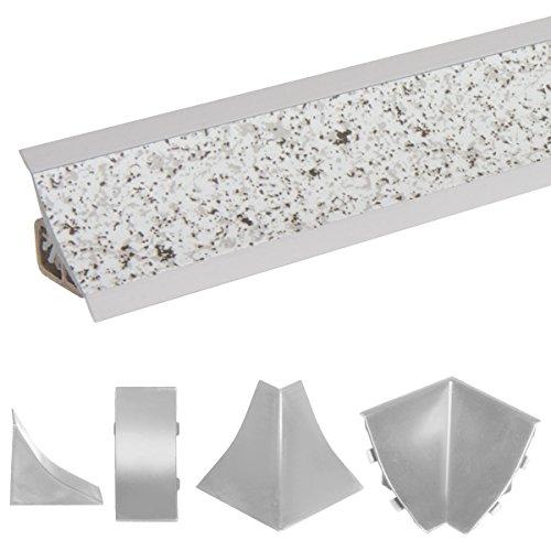 Winkelleiste Kunststoff-Profil 1m